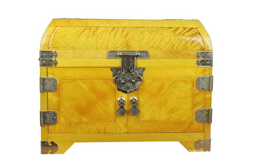 考漆实木盒